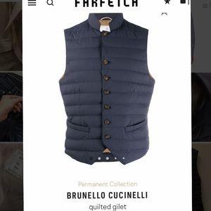 Brunello Cucinelli Puffer Gilet Vest
